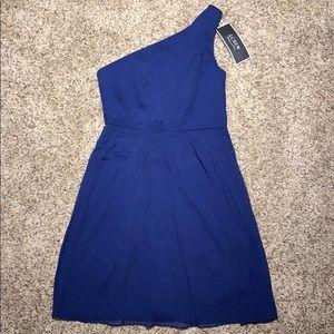 J Crew Blue One Should Chiffon Party Dress Size 4